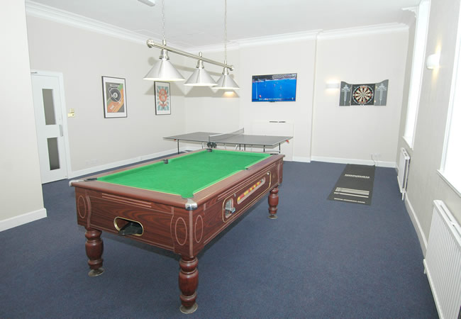 Residents Games Room